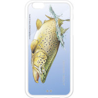 SUSUMU UCHIDA Hard Cays Iphone-6  61F01 Brown Trout