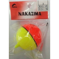 Nakazima No3 Fluorescent BEADS Float1 No.5 (Header 1 pcs )