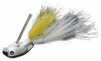 Blue Blue BLUE BLUE NONSTUCK JIG SW FEATHER 22g #03 YELLOW WHITE