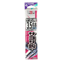 Sasame AA601 SAYORI (Garfish) HOOK ( Red ) Line incl. 3.5 0.8