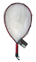 CORMORAN  Rubber Racket Net II  Red / Clear