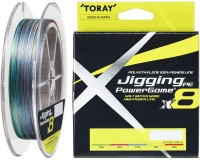 TORAY Jigging PE Power Game x8 [5color] 300m #0.6 (8lb)