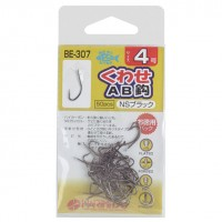 Harimitsu BE307 Assort Bait Hook AB Needle (NS)50P No.4
