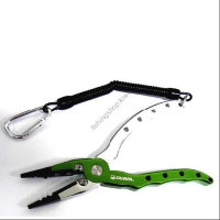 KAHARA 6.5inch Aluminum Pliers Straight Type  Light Green / Silver
