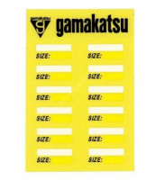 GAMAKATSU GM-1444 Number Sticker Small