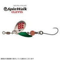 Anglers Republic Spin Walk Clevis 2.6 / BK Nickel Silver