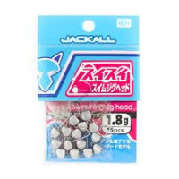 Jackall SUISUI SWIM JIG HEAD 1.8g / 15pcs