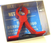 OFFICE EUCALYPTUS Net Holder   Red