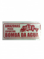 BOMBA DA AGUA Sticker L-Size  Jealousy Red