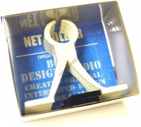 OFFICE EUCALYPTUS Net Holder   White