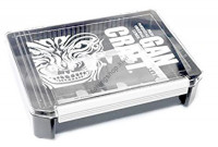 GAN CRAFT Face Logo JK Box #03 Clear / Grey