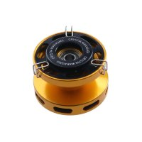 DAIWA Crystia Wakasagi Aluminum Spool Air  Black / Gold