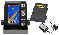 HONDEX PS-610C-BM 5inch Wide Color Portable Fish Finder  Battery Set