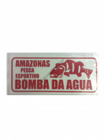 BOMBA DA AGUA Sticker S-Size  Jealousy Red